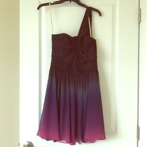 NWOT Halston Heritage Ombré Dress